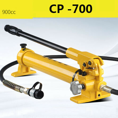 CP-700 Manual Hydraulic Pump Single Circuit Hydraulic Lifting Jack  with Oil Tube