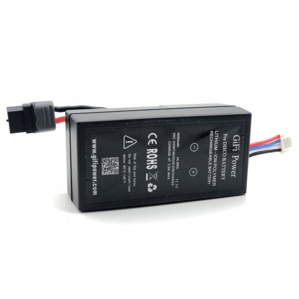 4050mAh 44.9Wh 20C 11.1V LiPo Battery for Parrot Disco Black
