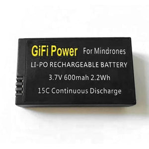 3.7V 15C 600mAh LiPo Battery  for Parrot MiniDrone Rolling Spider Jumping Sumo