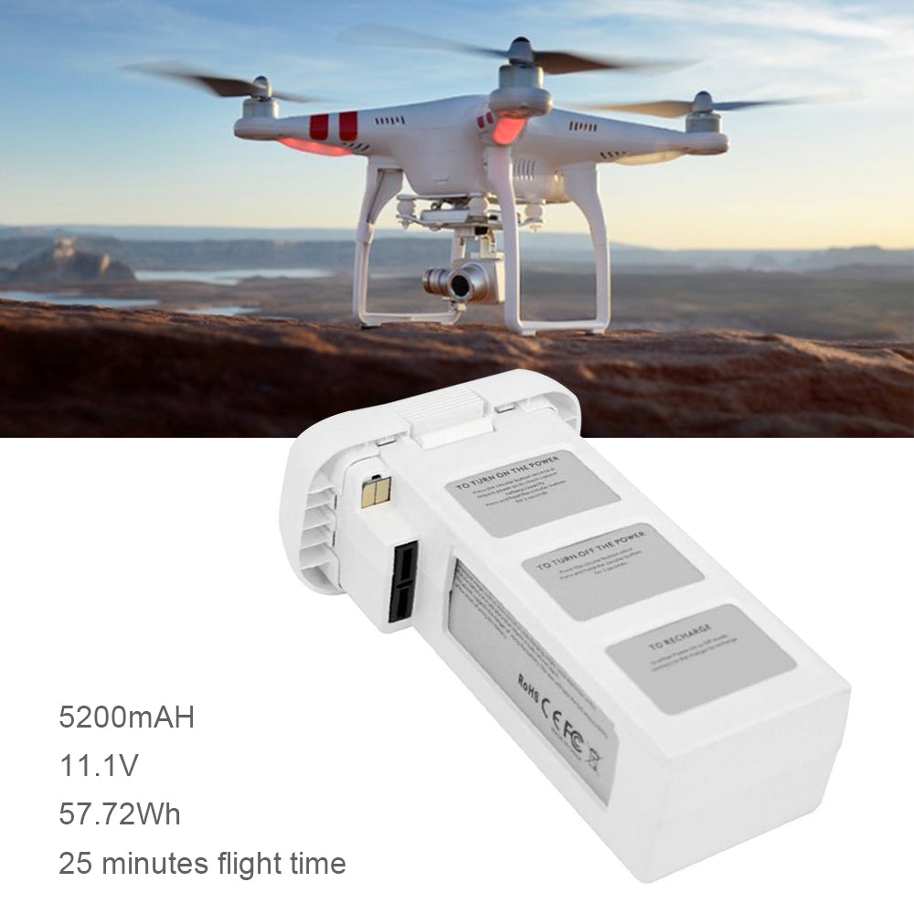 11.1V 5200mAh 57.72Wh  Intelligent Flight Battery  for DJI Phantom 2 Series
