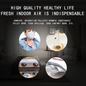 Portable Air Purifier Sterilizer Ozone Generator for Odors Eliminating Pets House Car