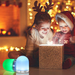RGB Color Changing Nightlight Multicolor LED Mood Lighting Night Light for Kid's Bedroom Bathroom Living Room
