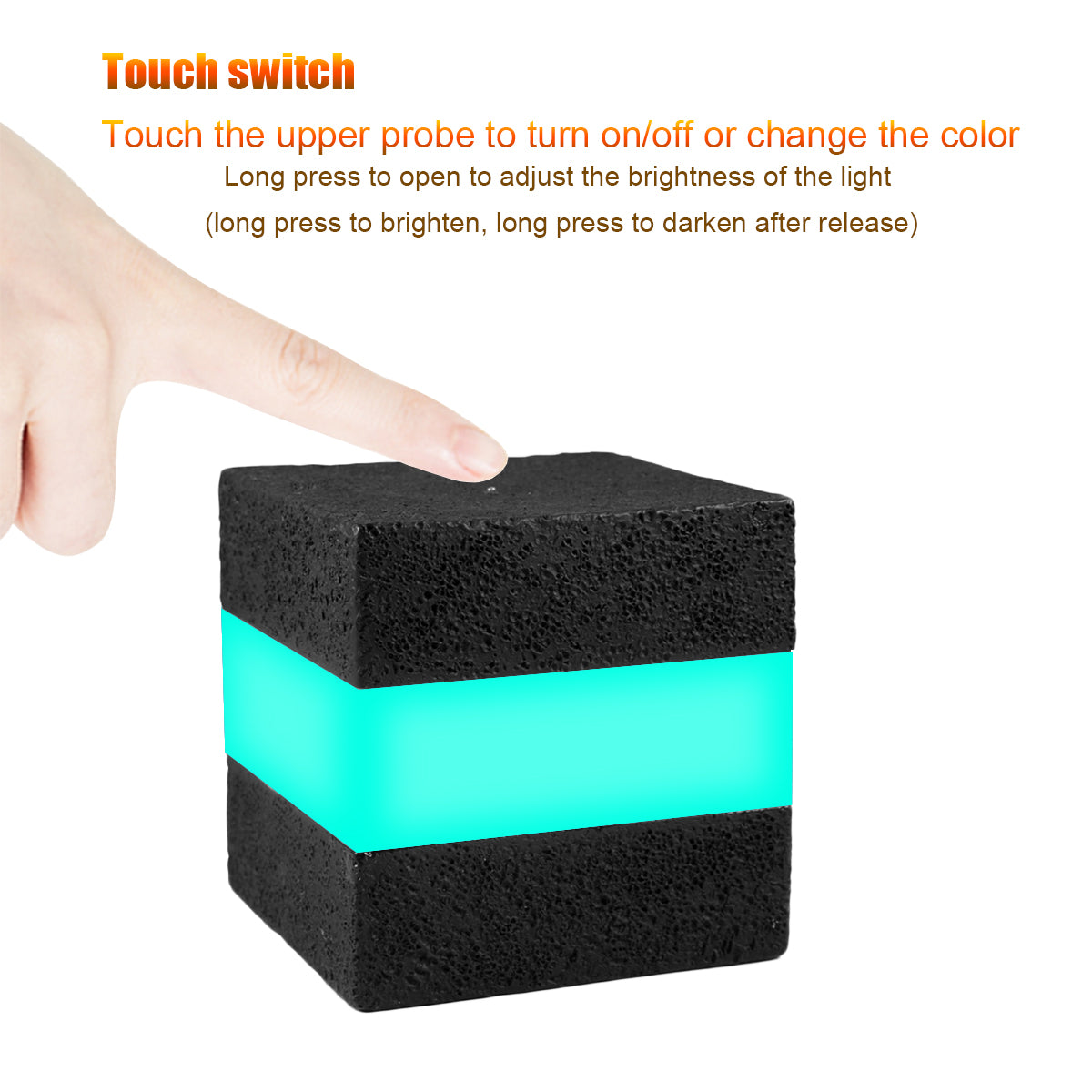 16 RGB Colors Cool Cosmic Cube Lights MCU Tesseract Mood Lamp IP65 Waterproof USB Charging Beside Desk Lamp for Kids Nursery and Toys