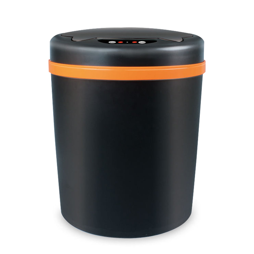 10 L Smart Touchless Automatic Kitchen Trash Cans Plastic Step Trash Can with Odor Protection of The Lid