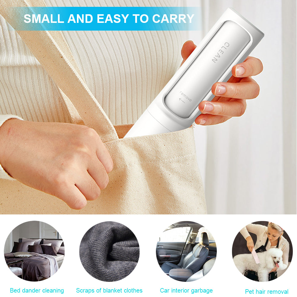Pet Hair Remover Brush Reusable Small Lint Roller Self Cleaning Hair Remover