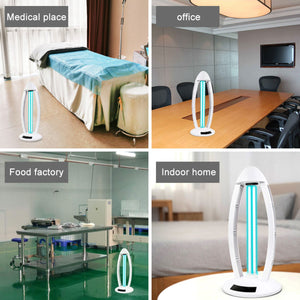 UV Germicidal Lamp Air Sterilizer Ozone Disinfection Light  With Timer for Killing viruses  Bacteria