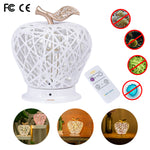2 in 1 Table Lamp Touch Night Light UV Disinfection Lamp with Remote Control  for Bedroom Living Room Office