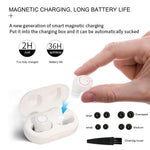 Hearing Amplifier Aid Rechargeable Digital Personal Sound Amplifier Devices ITE for Seniors,Inner-Ear Hearing aid,TV,2-Pack with Charging Box