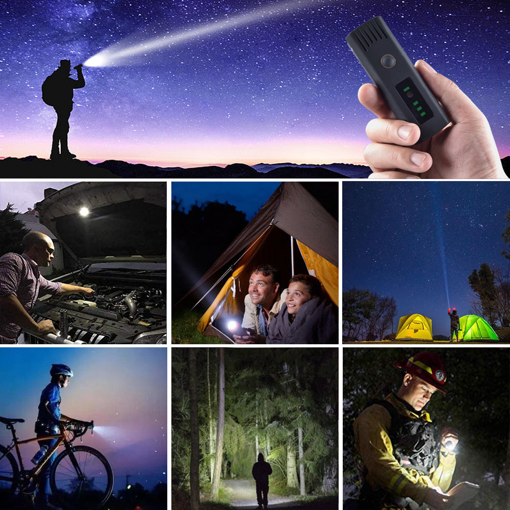 Bicycle Headlight USB Rechargeable 250 Lumen LED Bike Front Light High Bright 15 Hours Mountain Road Cycling Safety Commuter Flashlight with 4 Modes
