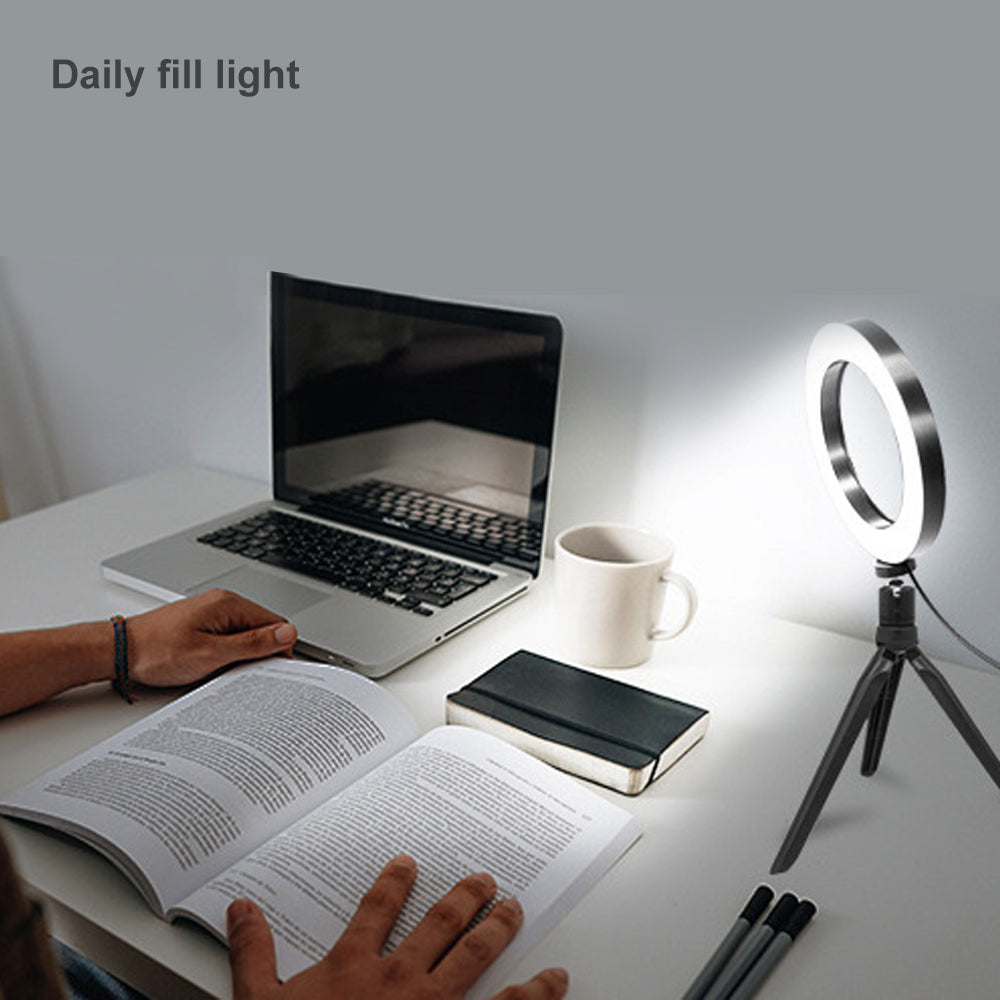 Photography Fill Light LED Camera Phone Flash Dimmable Light On-Camera Video Lights for Broadcast Live