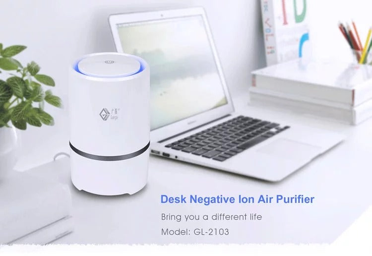 Air Purifier Room Ionizer Negative Ion Anion Generator with Low noise