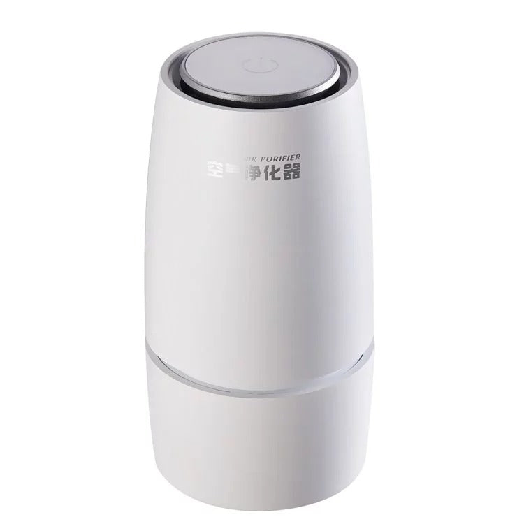 Portable Air Purifier HEPA Negative Ion USB Desktop Air Cleaner Ionizer for Car Home Office