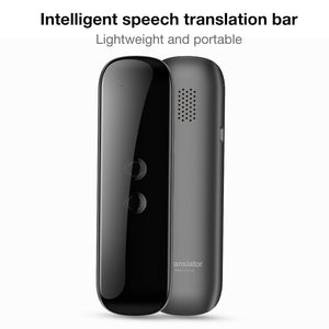 Smart Language Translator Device Text Bluetooth Translator Support  40 Language Electronic Pocket Voice for Learning Travelling Business