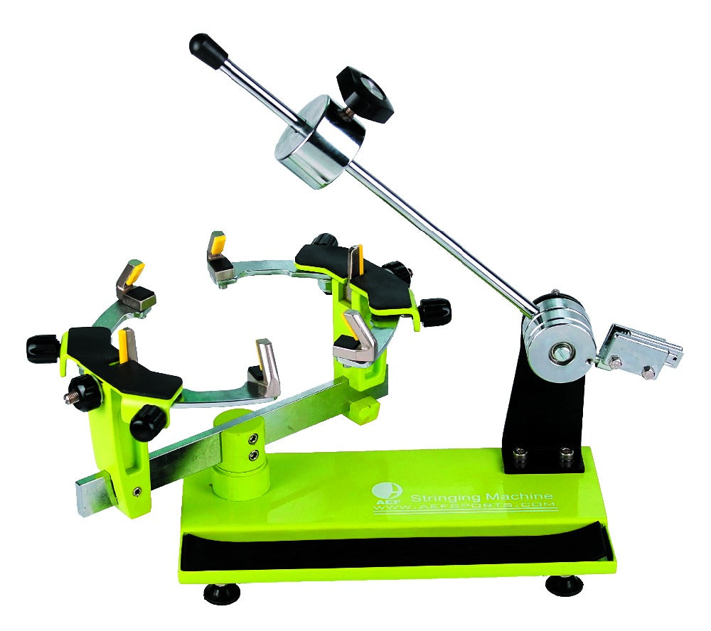 Stringing Machine 360-Degree Rotation Tabletop Racquet Stringer Machines for Strings Racquetball, Squash, Tennis or Badminton Rackets