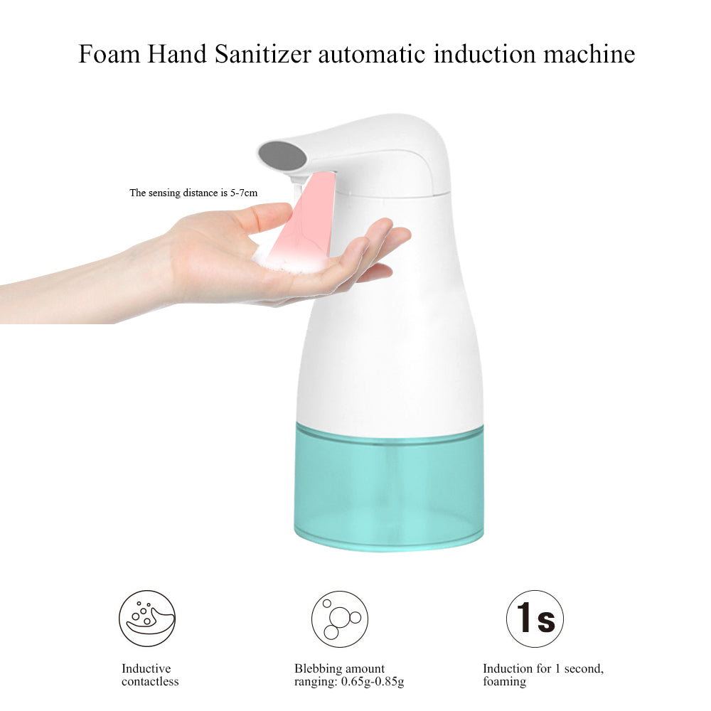 Foaming Soap Dispenser Automatic Touchless Hands Free Countertop Soap Dispensers Automatic Handles Soap Pump for Bathroom Kitchen  8.5oz/250ml