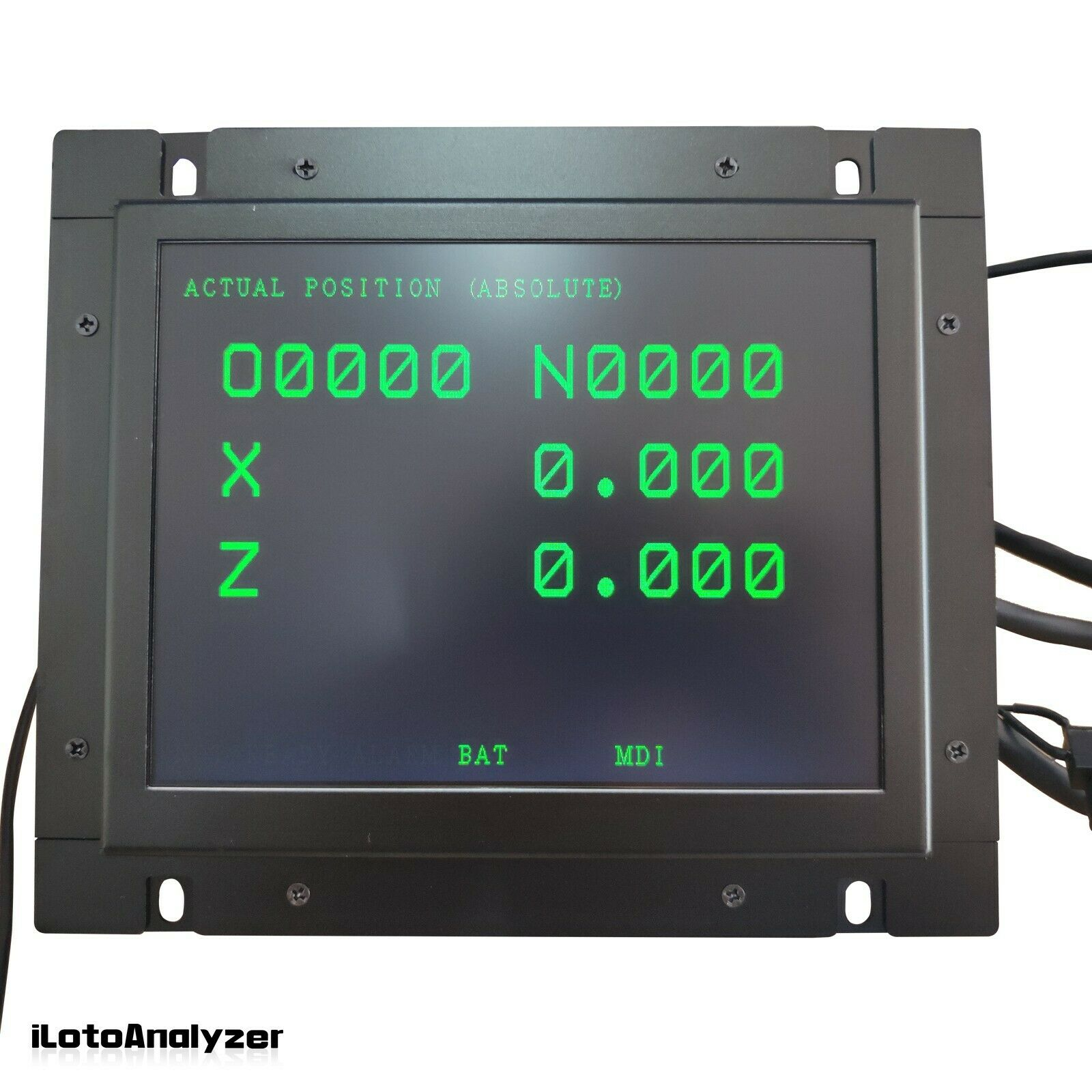 "A61L-0001-0093 D9MM-11A 9"" LCD Monitor Replacement for FANUC CNC System CRT"