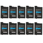 10 Pcs 3.6V 3600mAh Lithium Battery for Sony PSP2000 PSP3000 Gamepad Controller