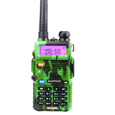 Baofeng UV-5R with Charging Dock Dual Band Two-Way Radio-Rally Radios