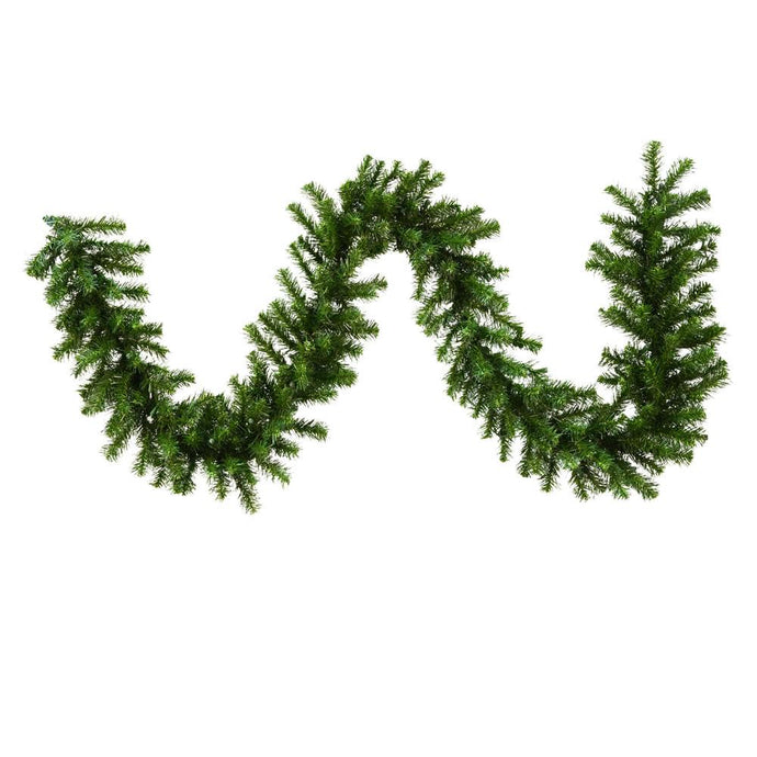 9 inches X 10 inches Douglas Fir Garland 220 Tips