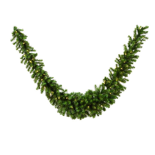 9 inches Douglas Fir Swag Garland 350T 100WmWh