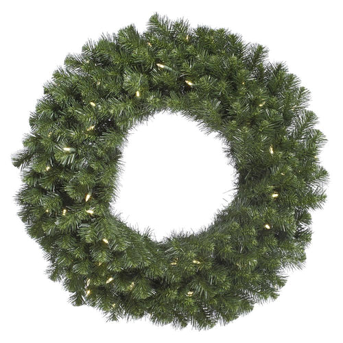 20 inches Douglas Fir Wreath 170T 50WmWht LED