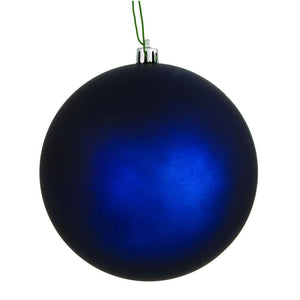 "4"" Midnight Blue Matte Ball UV Drill 6/Bag"