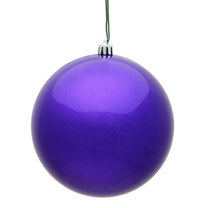 4 inches Purple Candy Ball UV 6/Bag