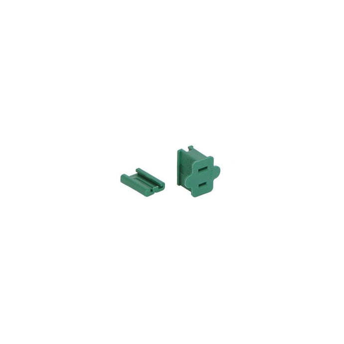 Green Female Quick Plug SPT2 18Ga Wire