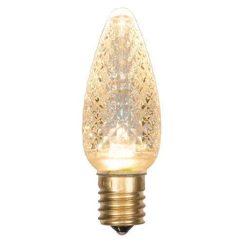 C9 Faceted LED Sun Warm White Bulb .96W