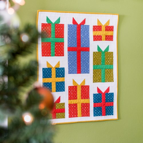 Nice Package Wall Hanging - FREE Pattern