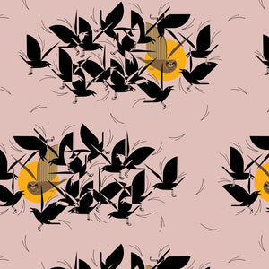 Charley Harper Barkcloth Fat Quarter Bundle - Prickly Pear Fabrics