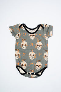 Charley Harper Knit Bodysuit Sample by Kinder Birch