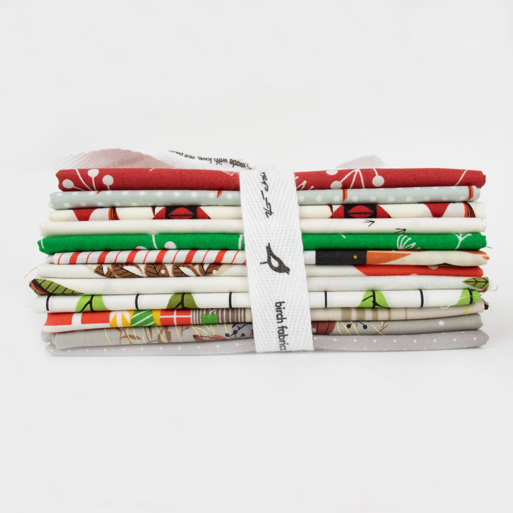 Charley Harper Holiday Fat Quarter Bundle - Prickly Pear Fabrics