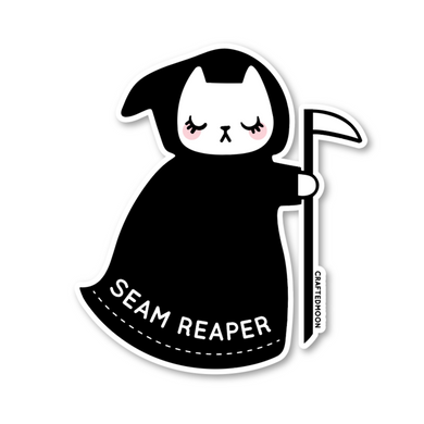 Craftedmoon Seam Reaper Sticker
