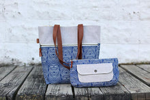 Load image into Gallery viewer, Caravan Tote + Pouch Paper Pattern