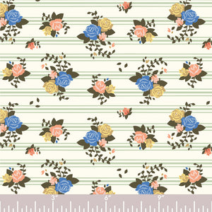 ROSETTE STRIPES KNIT - Birch Fabrics