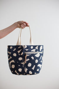 Crescent Tote Paper Pattern - Prickly Pear Fabrics