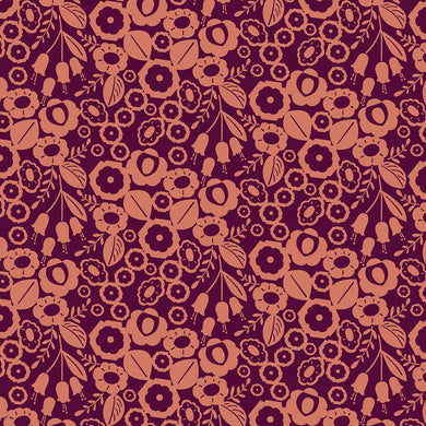 Emilia Adele Burnt Orange Canvas