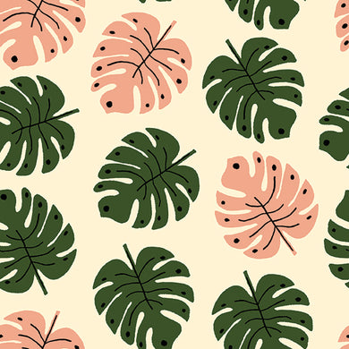 Green Thumb Girls Cotton - Prickly Pear Fabrics