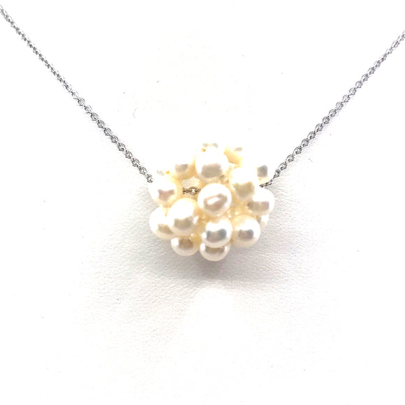 Pearl Ball Necklace