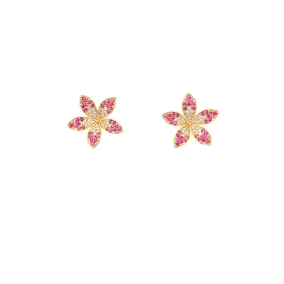 Surgical Steel Flower Stud