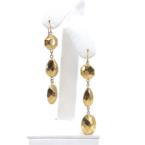 Gold Long Earrings