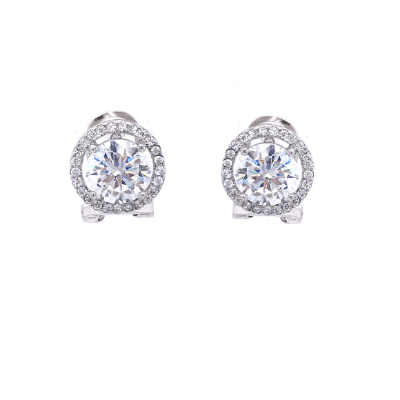 Sterling Silver CZ Studs