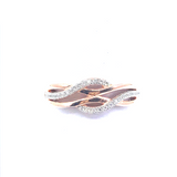 Sterling Silver Twisted Ring