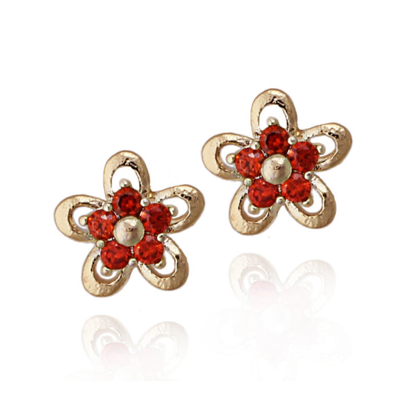 Surgical Steel Flower Studs