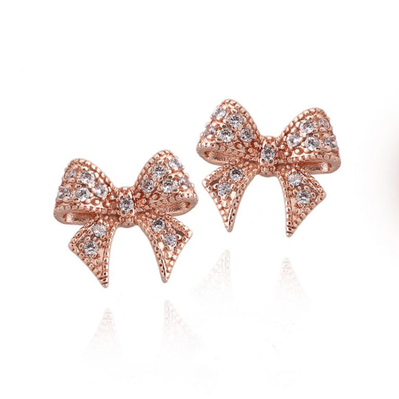 Surgical Steel Bow Studs
