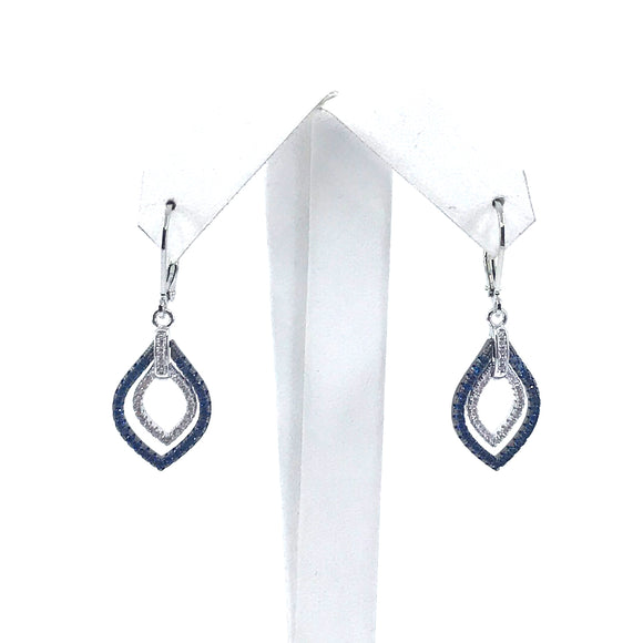 Surgical Steel Marquis Earrings