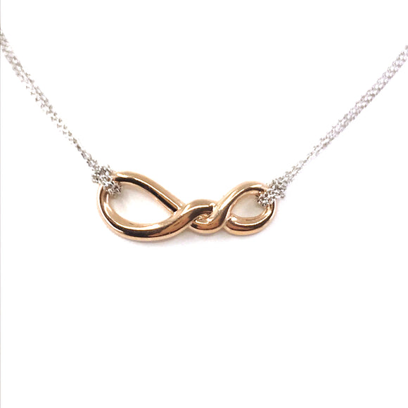 Sterling Silver Twist Necklace