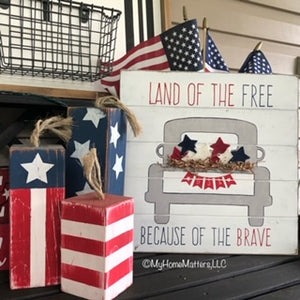 Land of the Free Sign Kit
