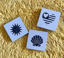 Load image into Gallery viewer, Interchangeable Mini Tiles-  Set of 3 Add on Tiles for Summer